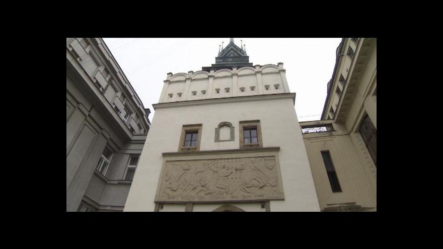 Video Michal Klokočník o obnově předbraní Zelené brány