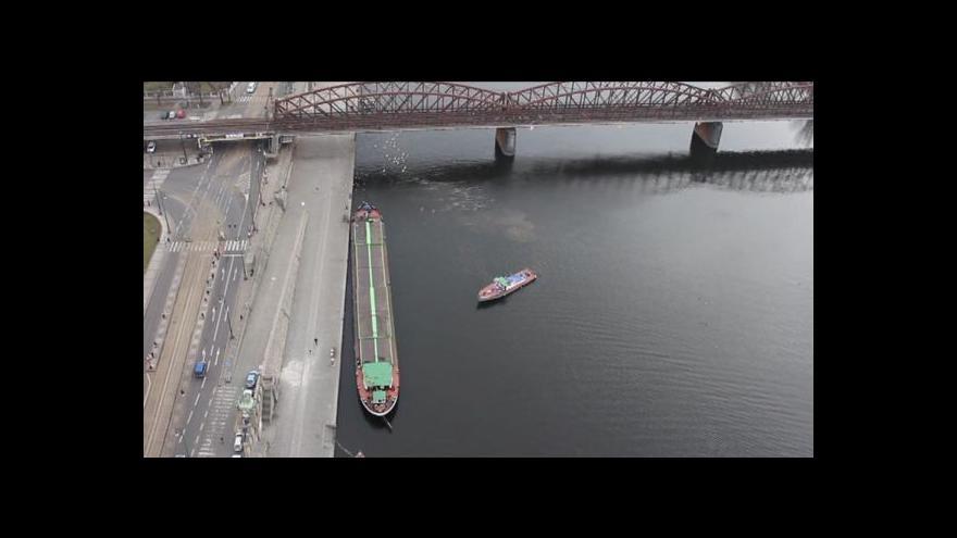 Video Tereza Stárková o plavbě historické lodi