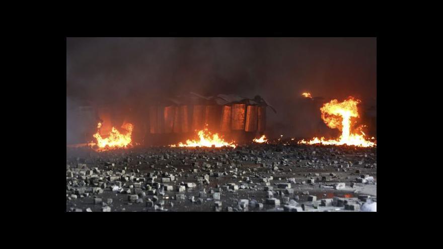 Video Události: Situace v Kyjevě eskaluje