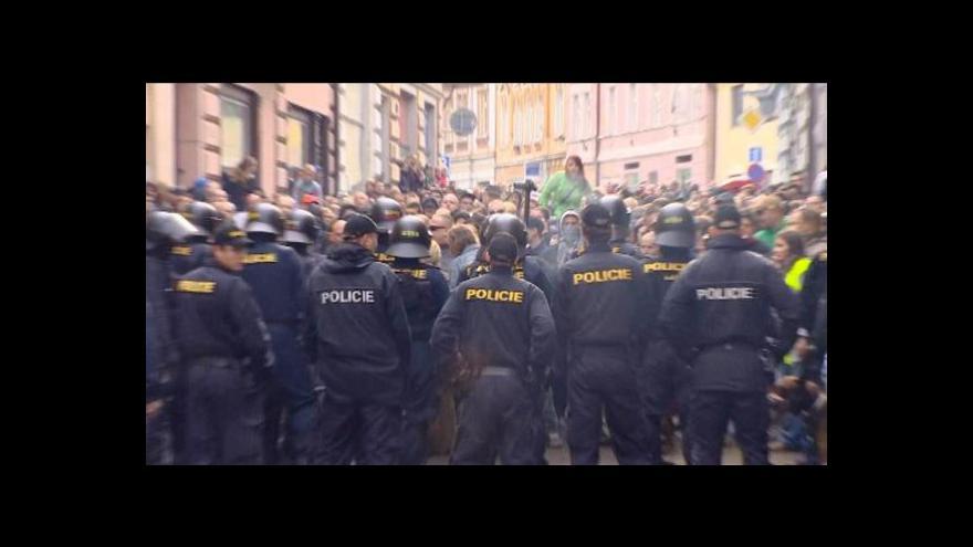 Video Ústecký soud začal projednávat útok v Duchcově