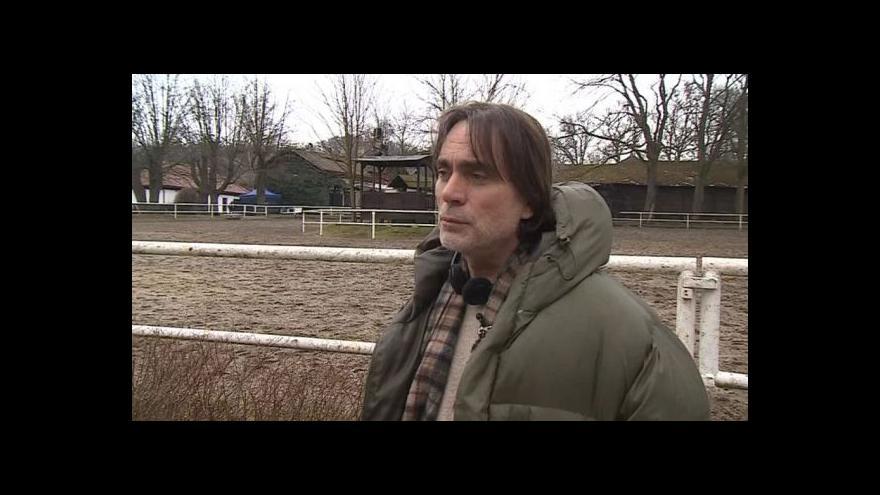 Video Režisér Milan Cieslar o natáčení zimních záběrů bez sněhu