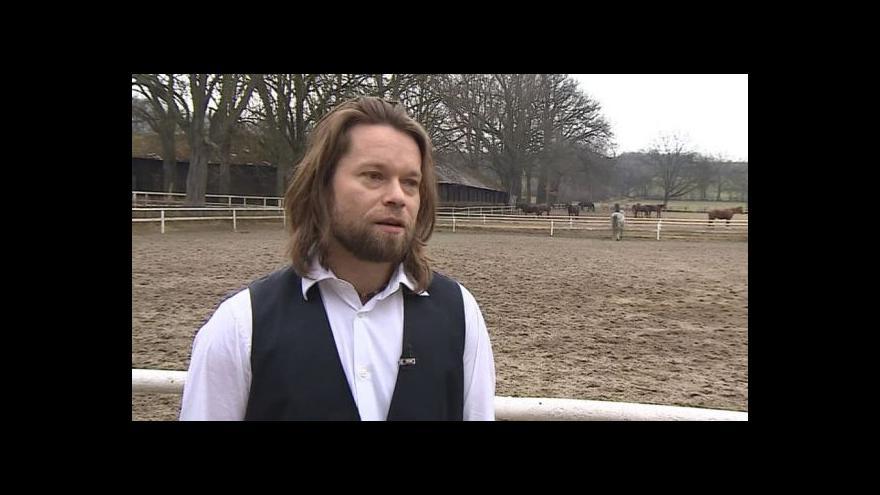 Video Richard Krajčo o roli v seriálu Znamení koně II