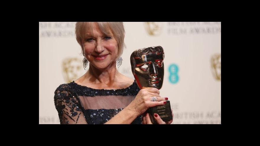 Video BAFTA rozdala ceny