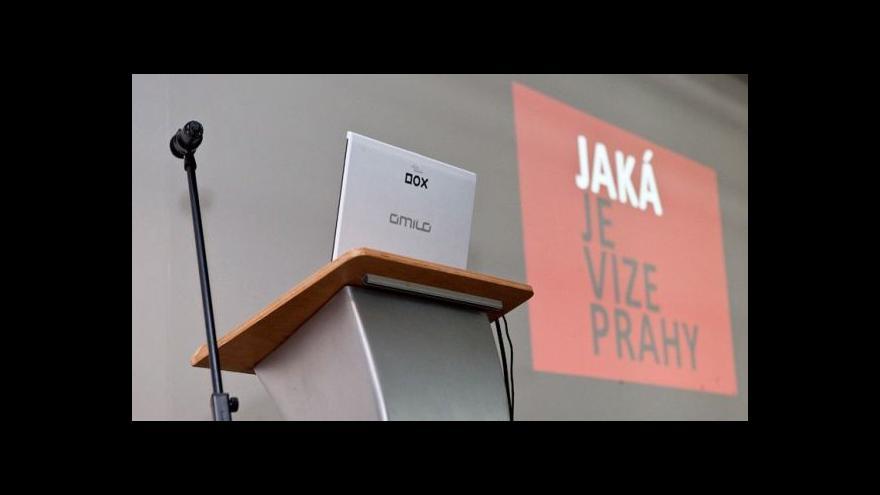 Video Záznam diskuse Jaká je vize Prahy