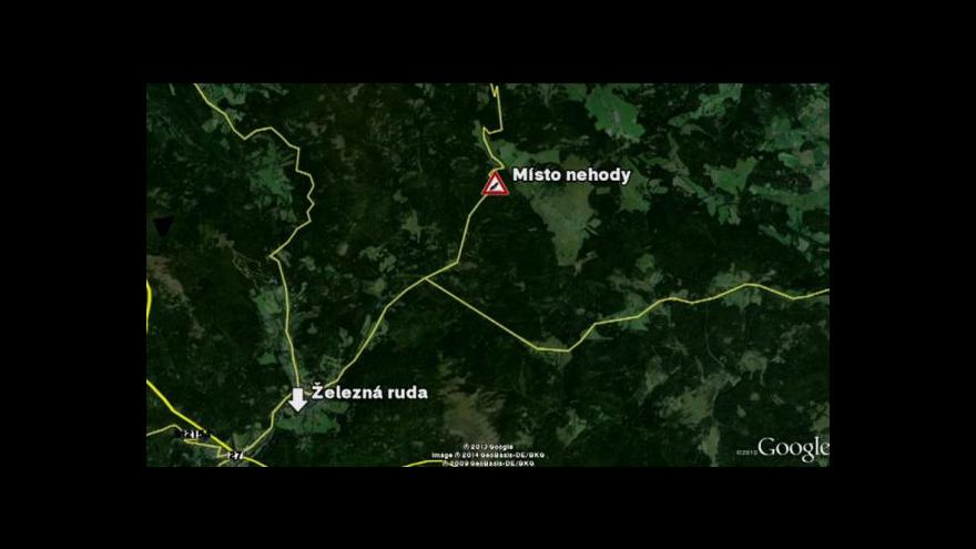 Video Na Klatovsku havaroval autobus s dětmi