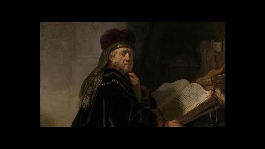 Video Díky sponzorskému daru může Národní galerie restaurovat vzácný Rembrandtův obraz