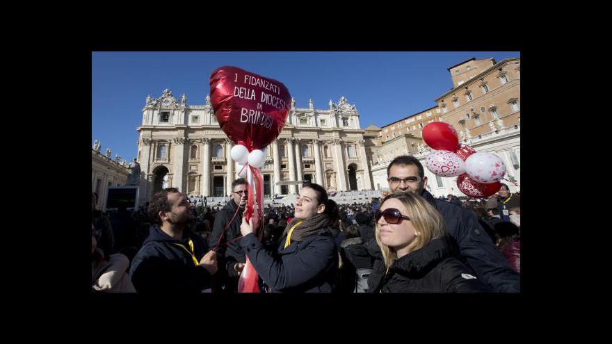 Video Papež se na sv. Valentýna setkal s českými biskupy