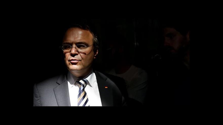 Video Ministr Friedrich rezignoval kvůli pornografickému skandálu