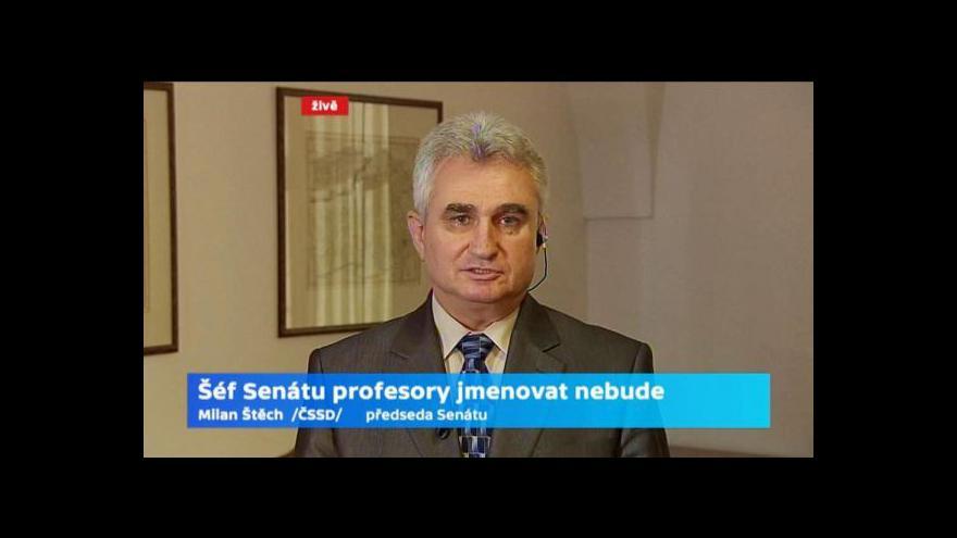 Video Rozhovor s Milanem Štěchem a Marcelem Chládkem