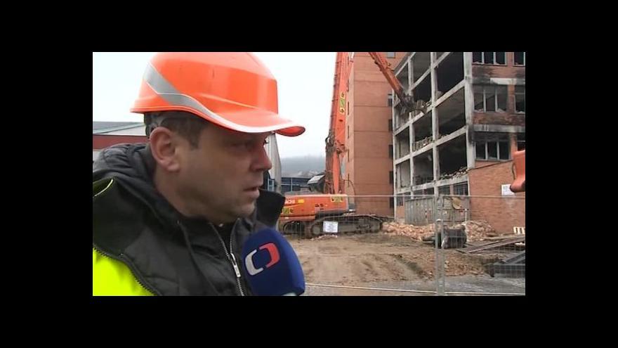 Video Hovoří jednatel demoliční firmy Jiří Schwab