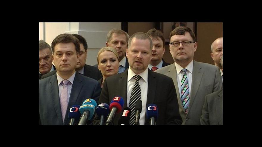 Video TK ODS ke stíhání Petra Nečase