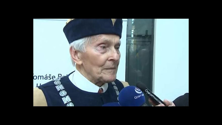 Video O svých dojmech z ocenění hovoří Miroslav Zikmund