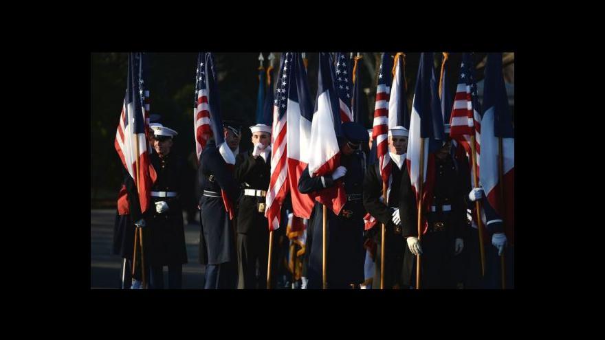 Video Trable kolem příprav Hollandeovy návštěvy v USA