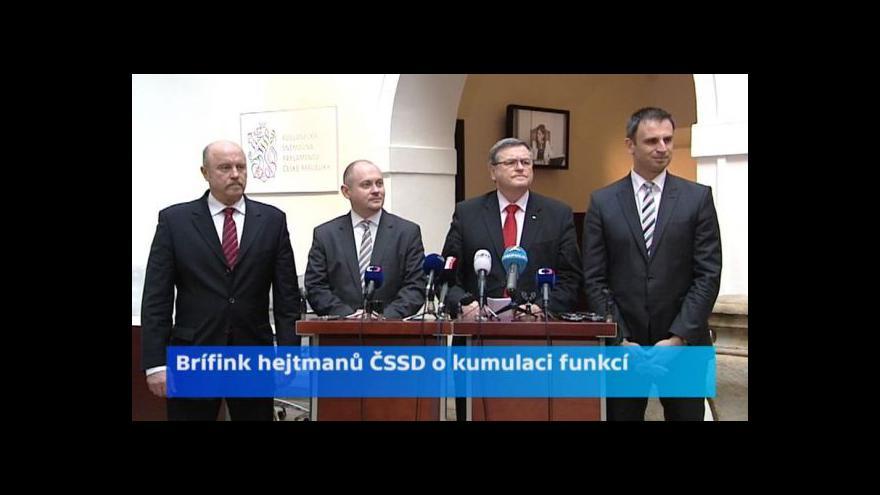 Video Hejtmani za ČSSD: Kterou funkci si ponecháme, oznámíme v dubnu