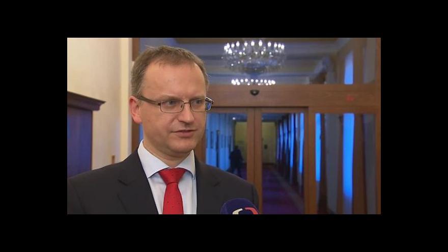 Video O žádostech hovoří náměstek ministra obrany Daniel Koštoval