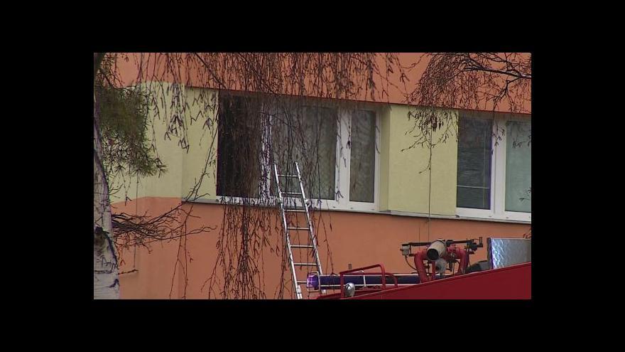 Video No comment: Požár panelového domu