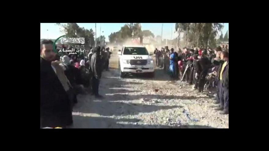 Video V Homsu skončilo příměří