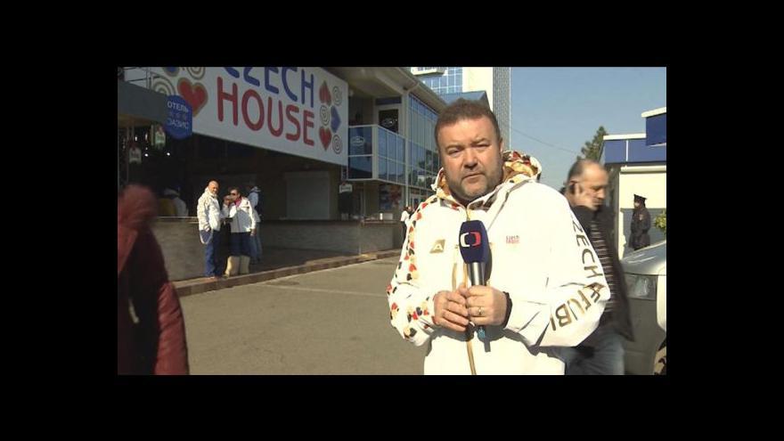 Video Miroslav Karas navštívil Český dům v Soči