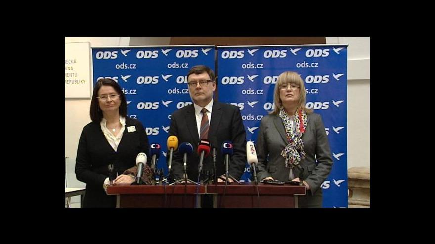 Video ODS: Filip nemůže být místopředsedou demokratického parlamentu