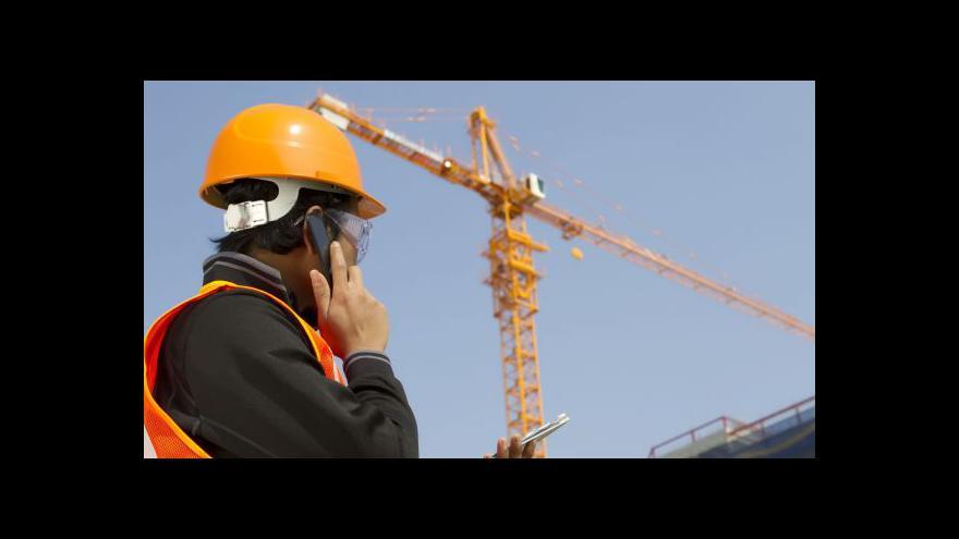 Video Oživení českého průmyslu a skomírání stavebnictví