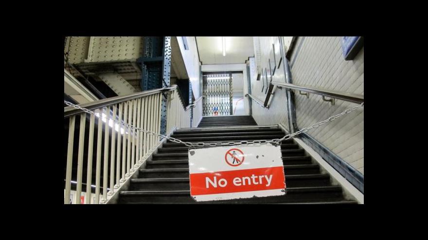 Video Londýn ochromila stávka zaměstnanců metra