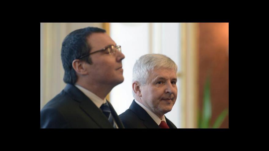Video Rusnok: Členství v bankovní radě je pro mě vrcholem odborné kariéry
