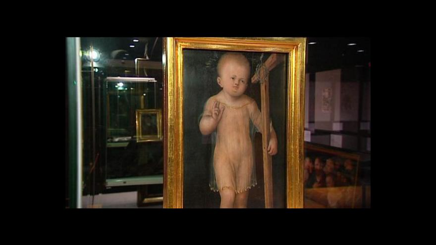 Video Unikátní Cranachova díla si odbydou světovou premiéru v Ostravě