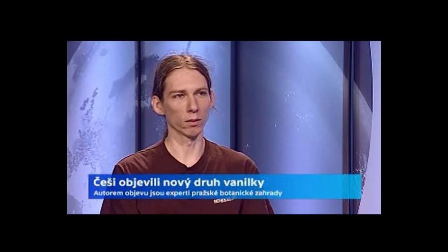 Video Češi objevili nový druh vanilky