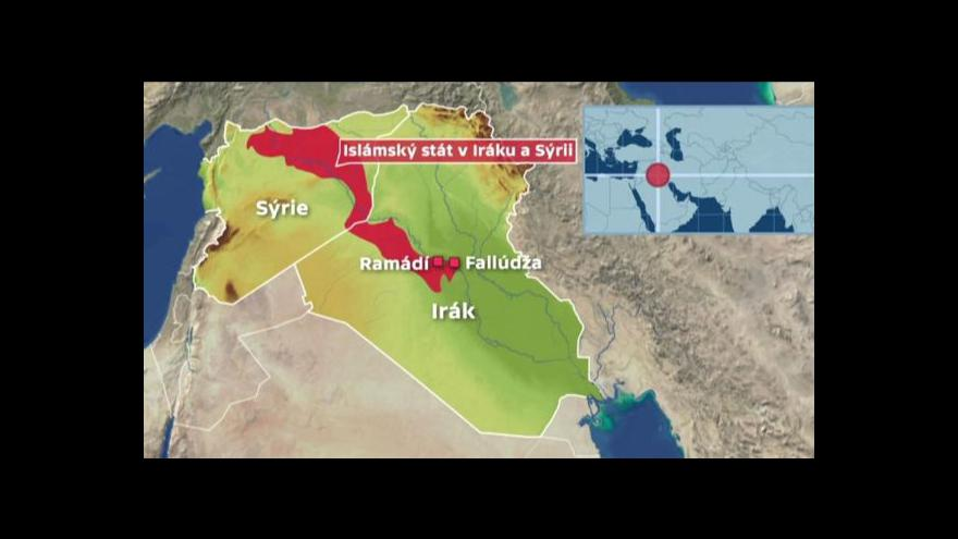 Video Horizont ČT24: Armáda připravuje útok na Fallúdžu