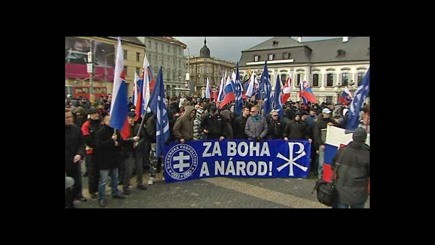 Video Slovensko zpřísnilo zákon proti pravicovým extremistům
