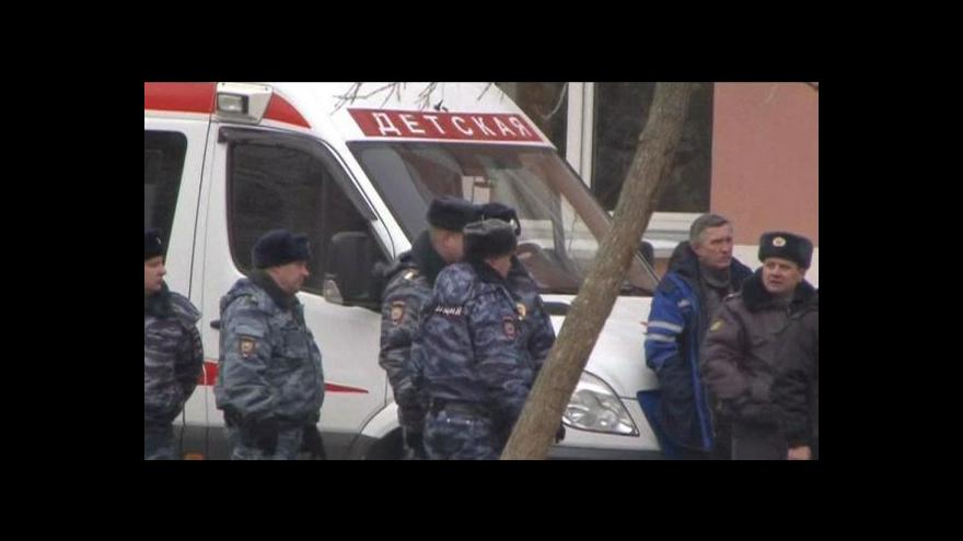 Video Události: Střelba v moskevské škole