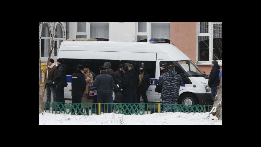 Video Karas z Moskvy: Útočníkem byl student místní školy