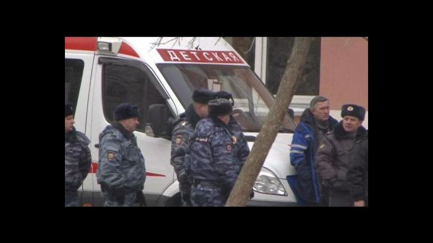Video Horizont ČT24: Útok v moskevské škole
