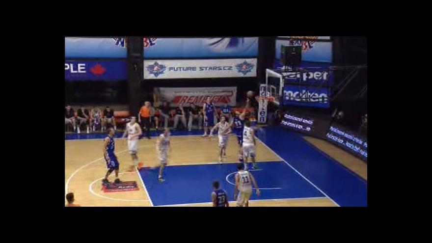 Video Sestřih basketbalového utkání USK Praha - Ostrava