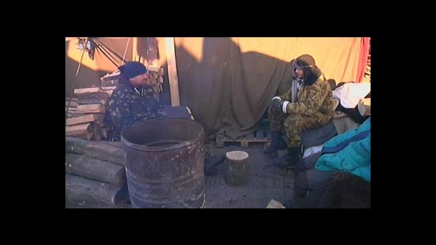Video Ukrajinská opozice zveřejnila počet pohřešovaných