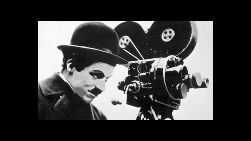 Video Chaplin baví na plátně už 100 let