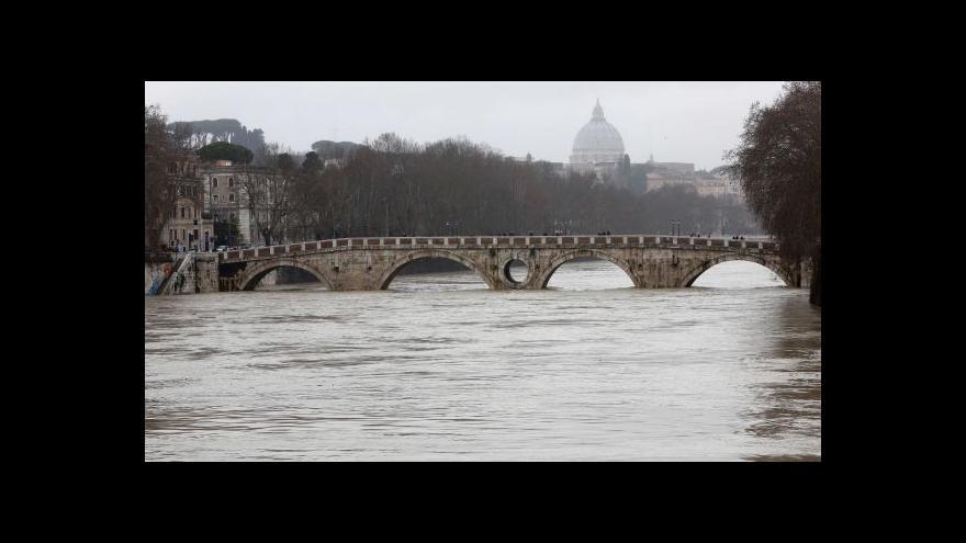 Video Itálie: Předpověď není příznivá. Ke zlepšení by mělo dojít až ve středu