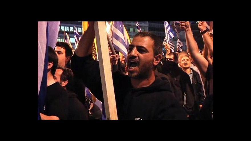 Video Zlatý úsvit chce kandidovat ve volbách za každou cenu