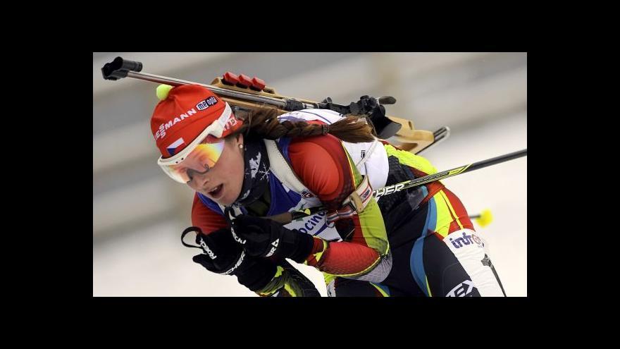Video Sestřih sprintů z mistrovství Evropy biatlonistů