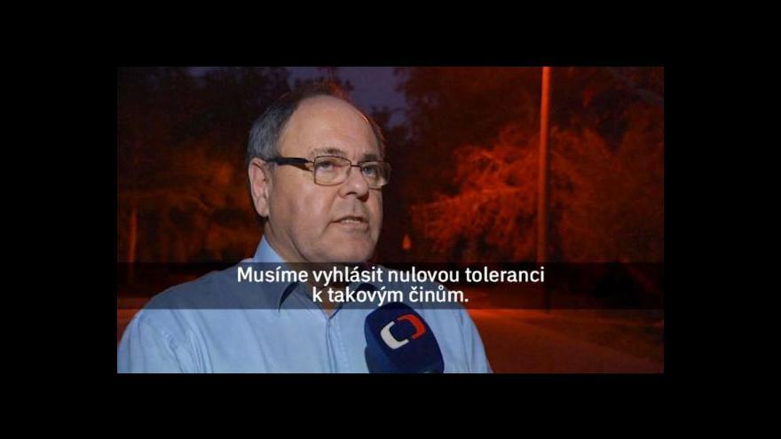 Video Jakub Szántó: Napětí na západním břehu sílí