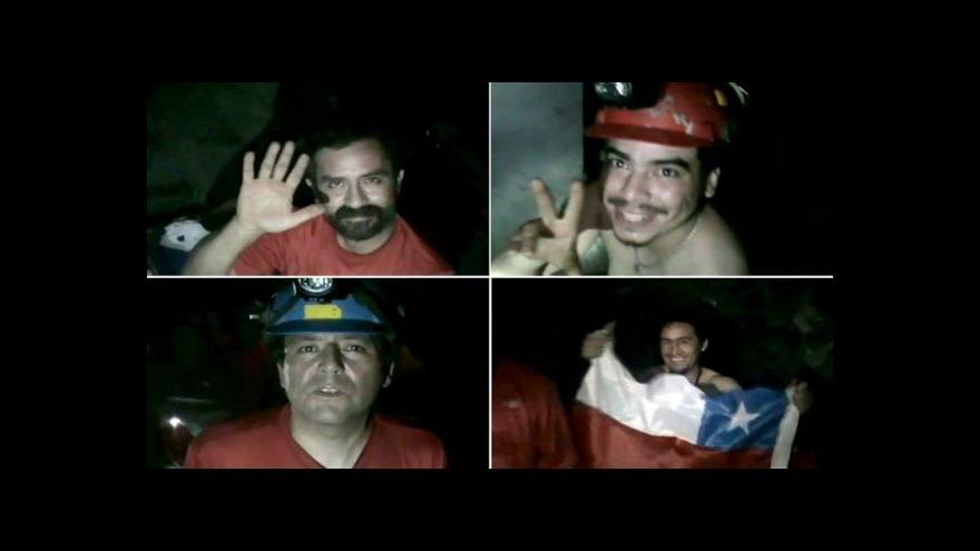 """Video Američané chystají snímek """"33"""" o zavalených chilských hornících"""