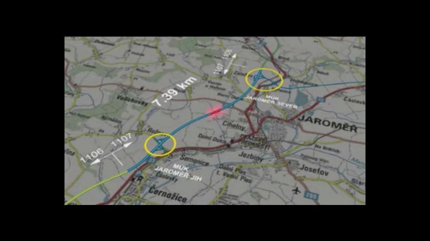 Video Anna Havlovicová a Vlastimil Weiner o vyvlastňování pro dálnici D11
