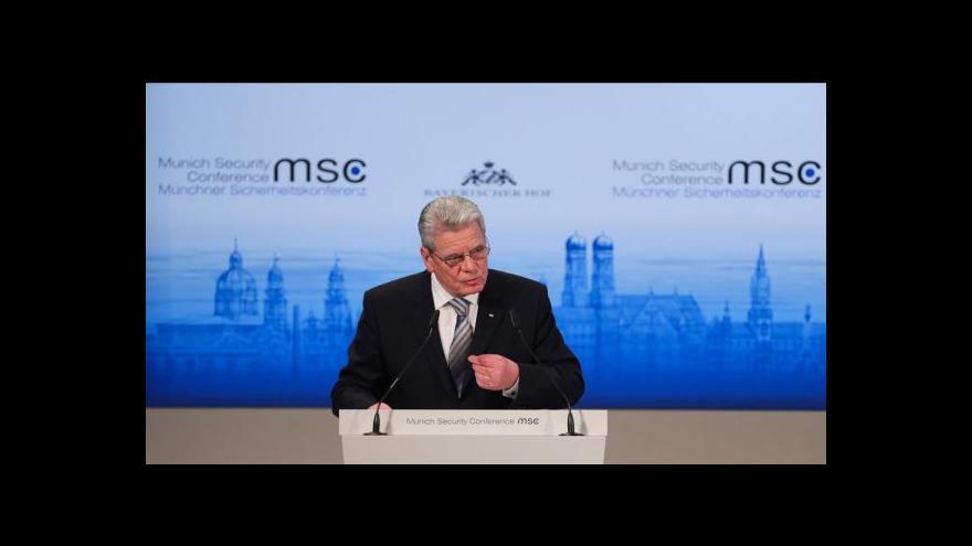 Video Mnichovská bezpečnostní konference slaví 50 let