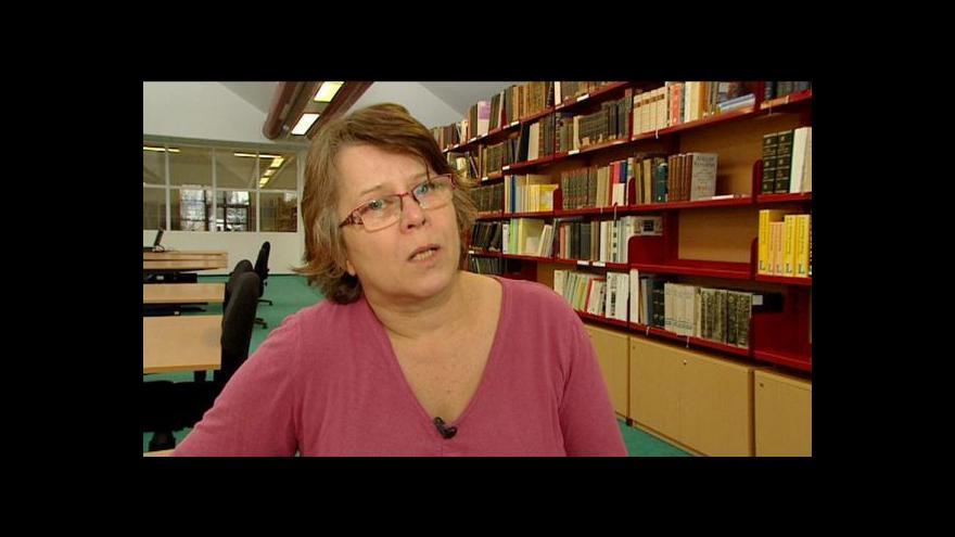 Video Cenu Český patriot 2013 dostala i pracovnice archivu