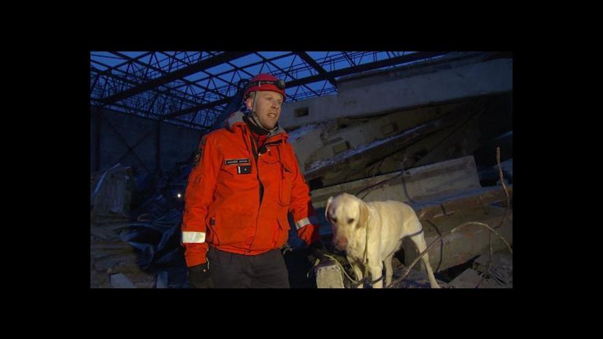 Video Michal Klokočník o cvičení v ruinách sportovní haly