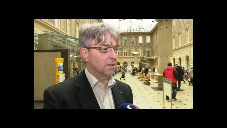 Video Hovoří mluvčí České pošty Ivo Mravinac