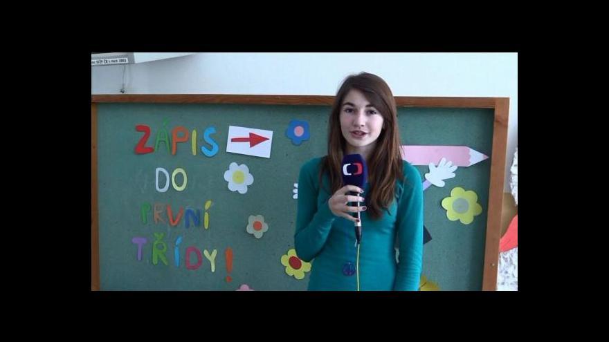 Video Zápis do 1. třídy v Okříškách