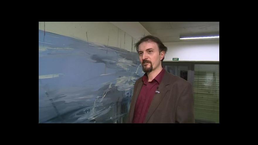 Video Hovoří malíř a ilustrátor Jan Spěváček