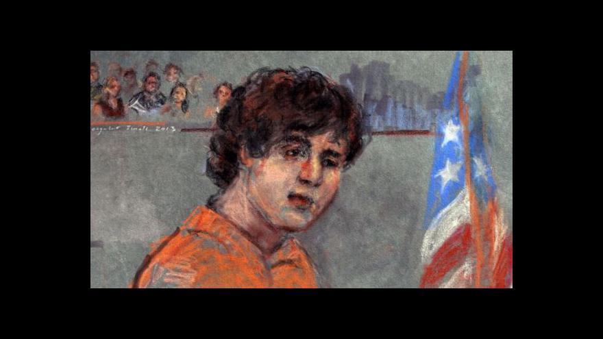 Video Američtí žalobci žádají pro Carnajeva trest smrti