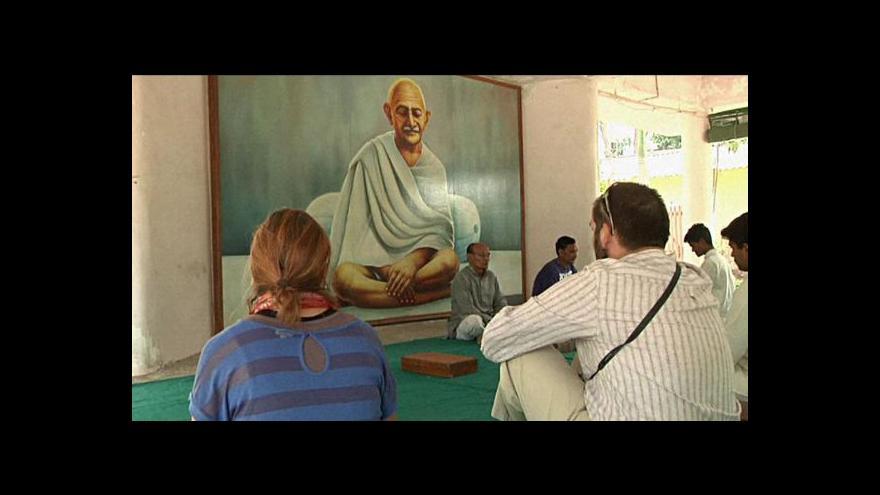 Video Vyzkoušejte si, jak žil Mahátma Gándhí